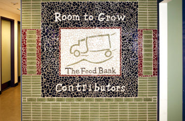 The Food Bank of Western MA: Room to Grow Capital Campaign Donor Appreciation Wall