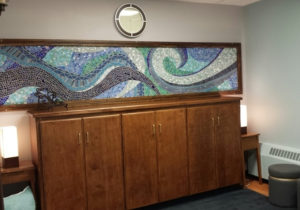 Journeys: St. Anselm College Multi Faith Prayer Space. Waves