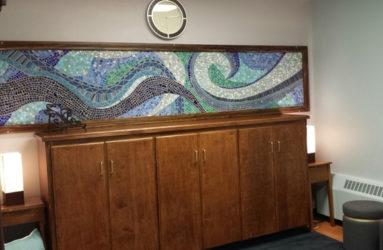 Journeys: St. Anselm College Multi Faith Prayer Space. Waves