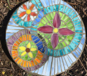 Student Work: Stepping Stones - Christine Kenneally Mosaic