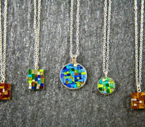 Collection of Smalti Necklaces