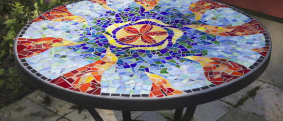 Sunburst Patio Table