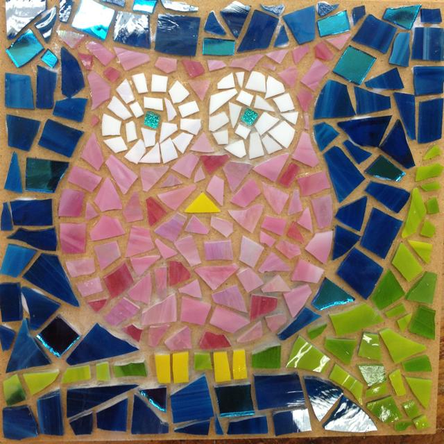 Student Work: Wall Mosaics - Christine Kenneally Mosaic Artist